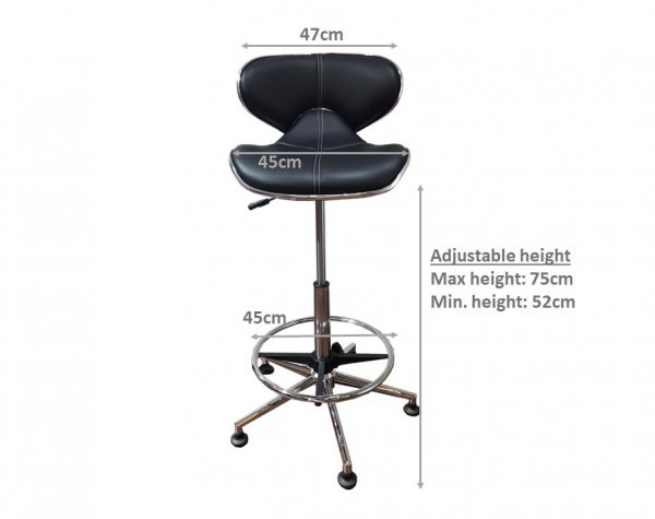 Dray Roller Chair Dimensions