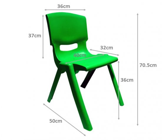 Children's Chair Big Dimensions