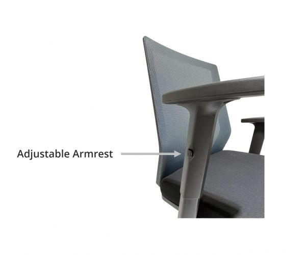 OFFICE CHAIR ADJUSTABLE ARMREST